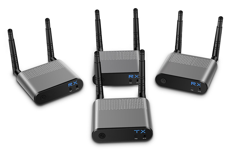 LINK-MI LM-WH100B-3 1080P 3D Wireless HDMI Extender